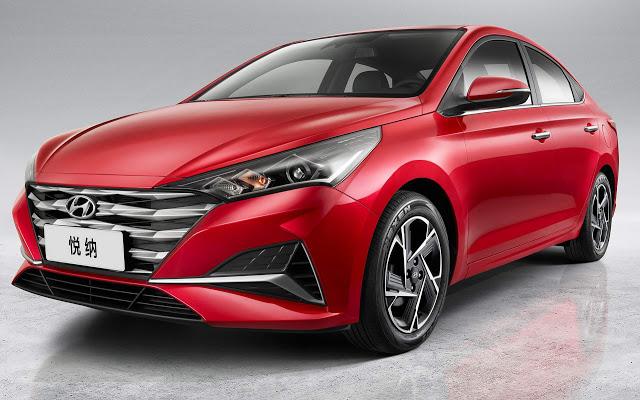 Hyundai Verna 2020 chega à China para enfrentar Onix Plus